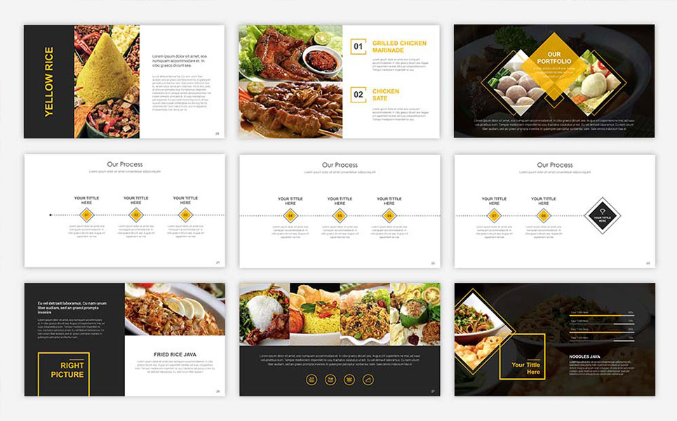 Template powerpoint para sites de cafeteria 67553 toneelgroepblik Image collections