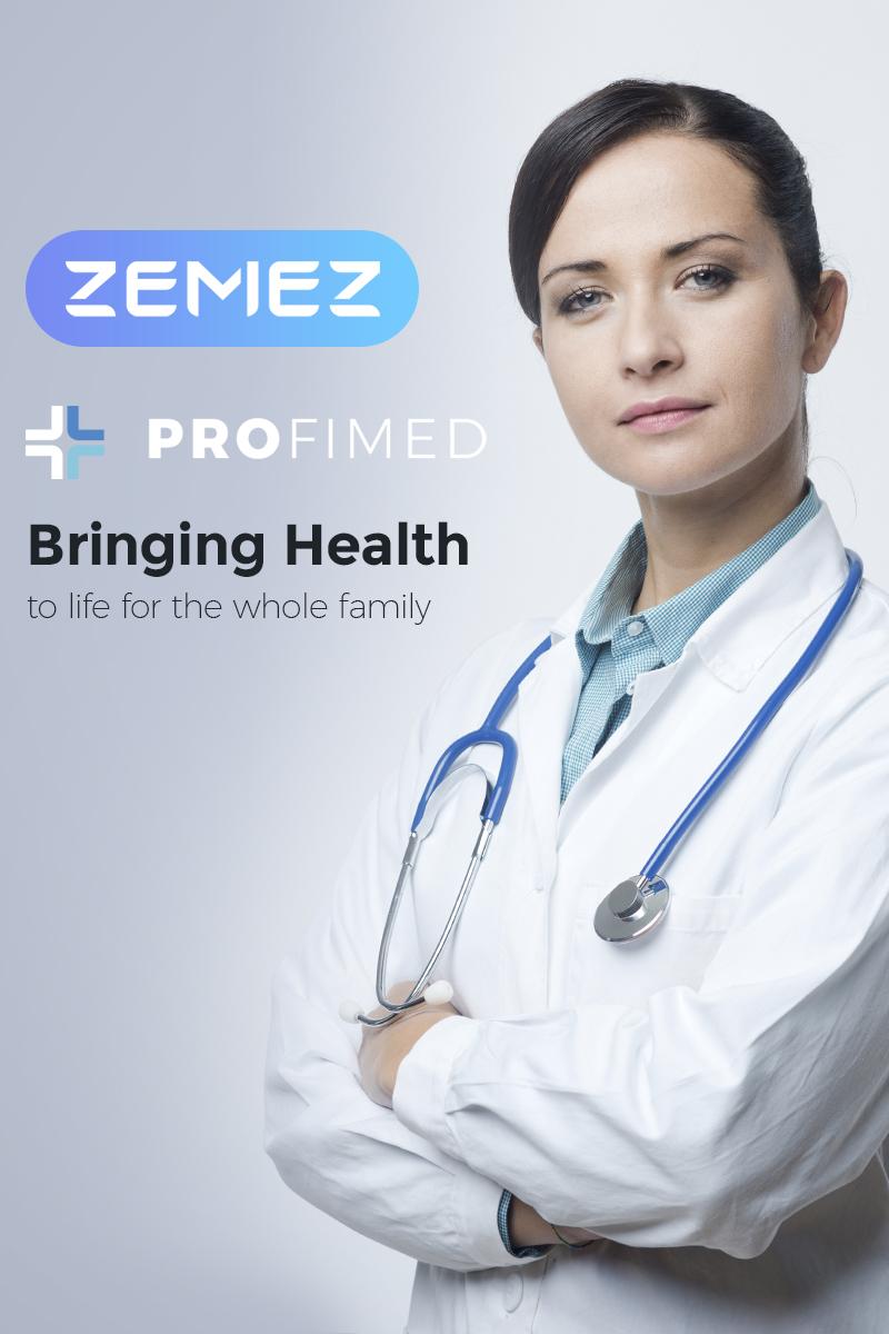 Адаптивный шаблон №67307 на тему медицина, врач