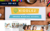 Kiddlez - Primary School Responsive WordPress Theme New Screenshots BIG