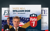 Election Campaign Flyer and Poster PSD Template Big Screenshot