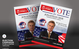 "PSD Vorlage namens ""Election Campaign Flyer and Poster"""