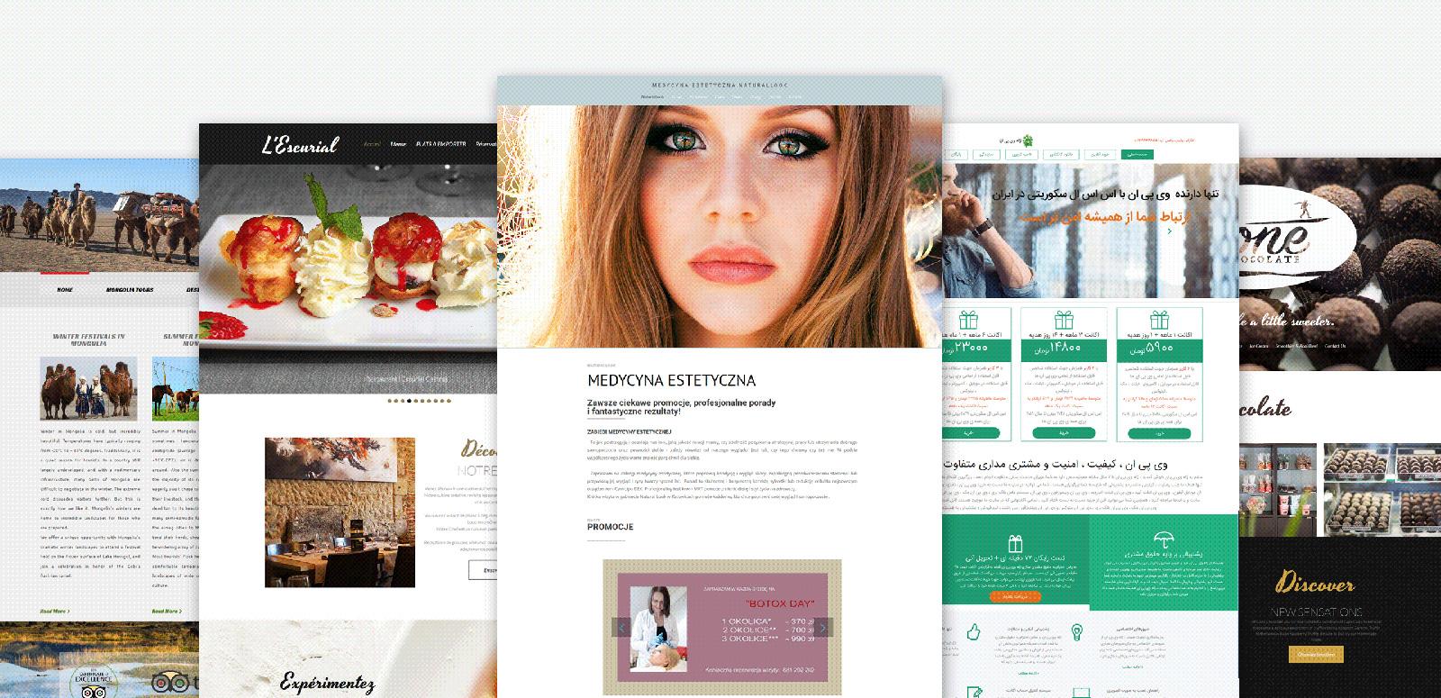 Digital Agency Moto CMS 3 Template