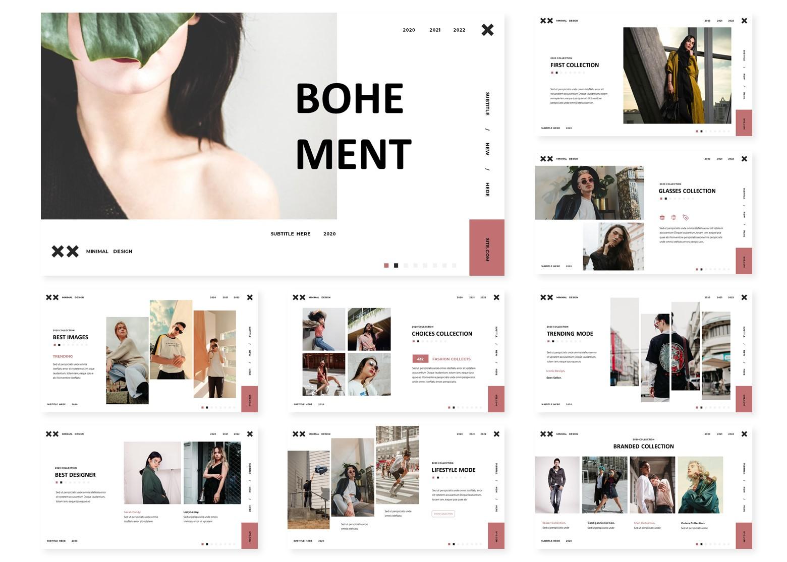 Bohement | PowerPoint Template