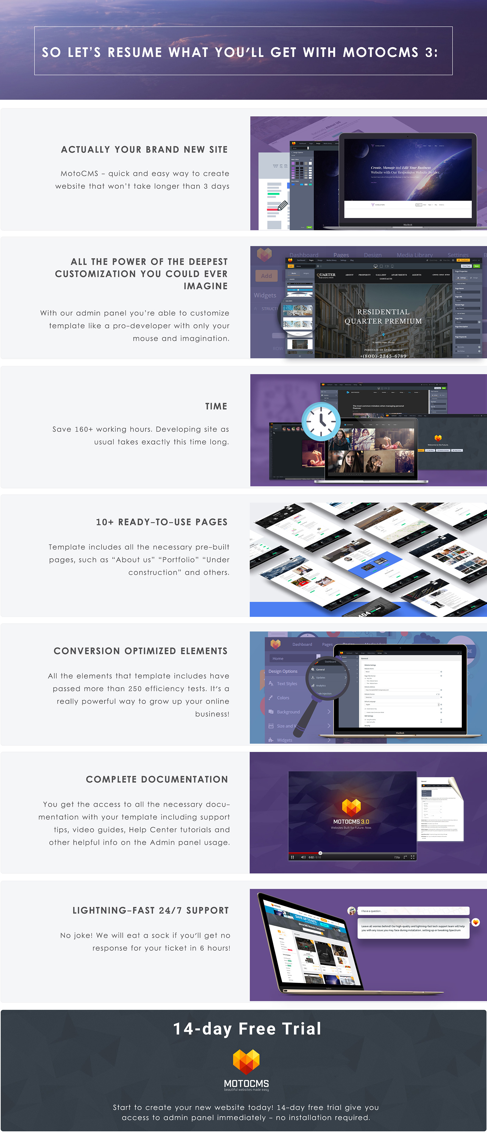 Industrial Manufacturing Moto CMS 3 Template