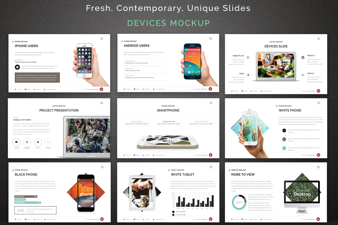 Complete business powerpoint template 67622 complete business powerpoint template big screenshot toneelgroepblik Image collections