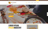 Chitra Food & Recipe PSD Template
