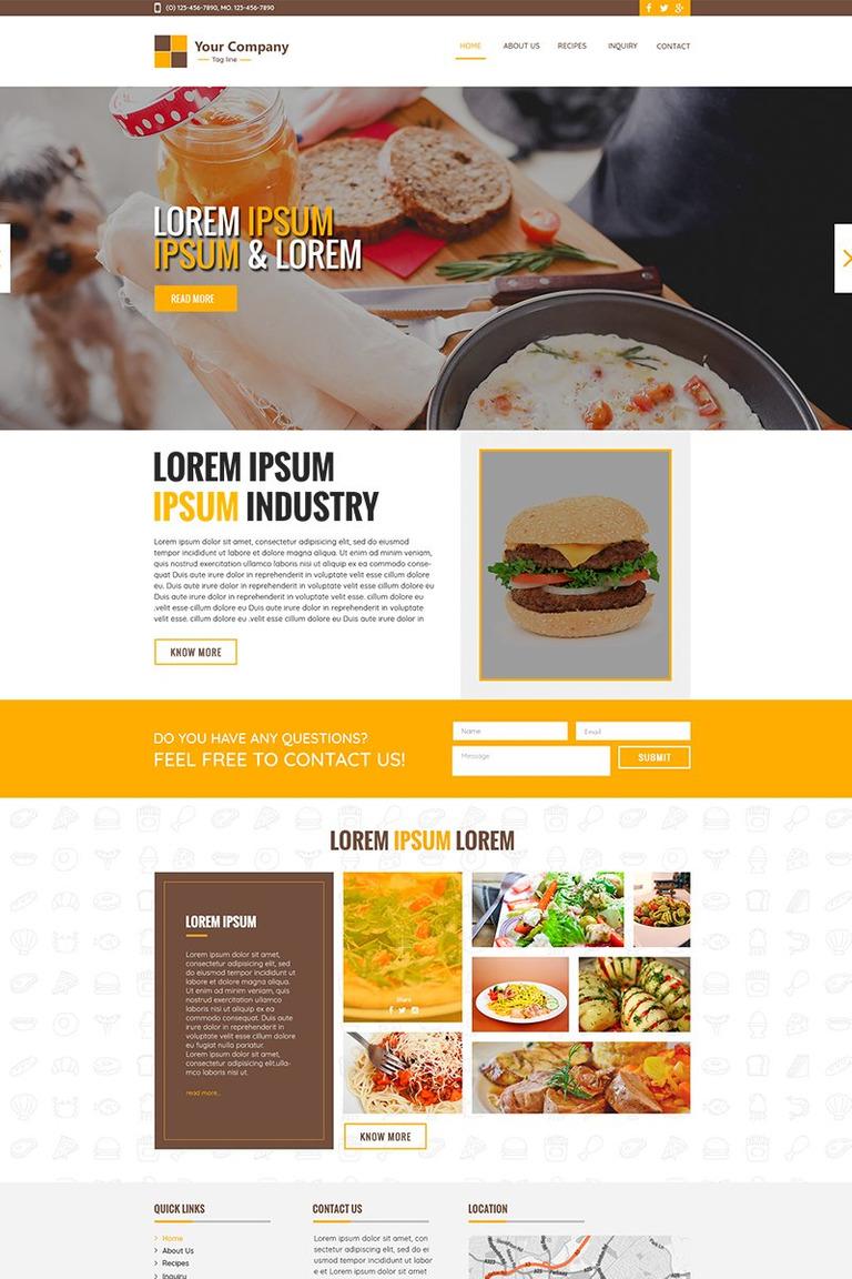 Chitra food recipe psd template 67713 chitra food recipe psd template big screenshot forumfinder Gallery