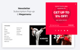 RedDragon - Martial Arts Shop Tema Magento №67400