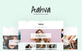 Aahva - WordPress Theme für Blogger