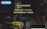 Hardrod - Dynamite Fitness & Bodybuilding WordPress Theme