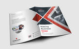 Presentation Folder Corporate Identity Template