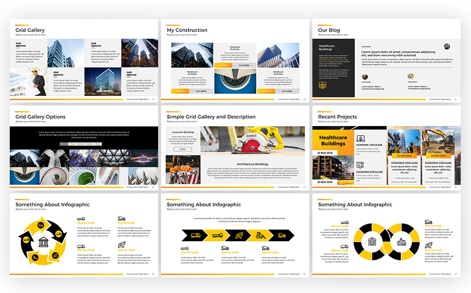 Construction powerpoint template 67591 construction powerpoint template big screenshot toneelgroepblik Choice Image