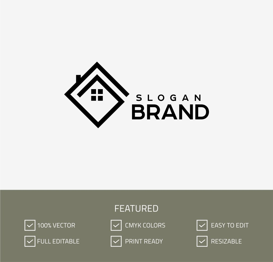 real estate logo template 68097