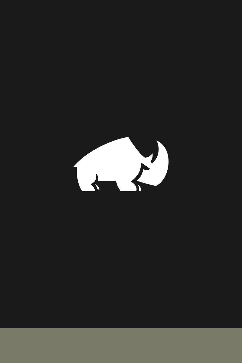 rhino logo template 67824