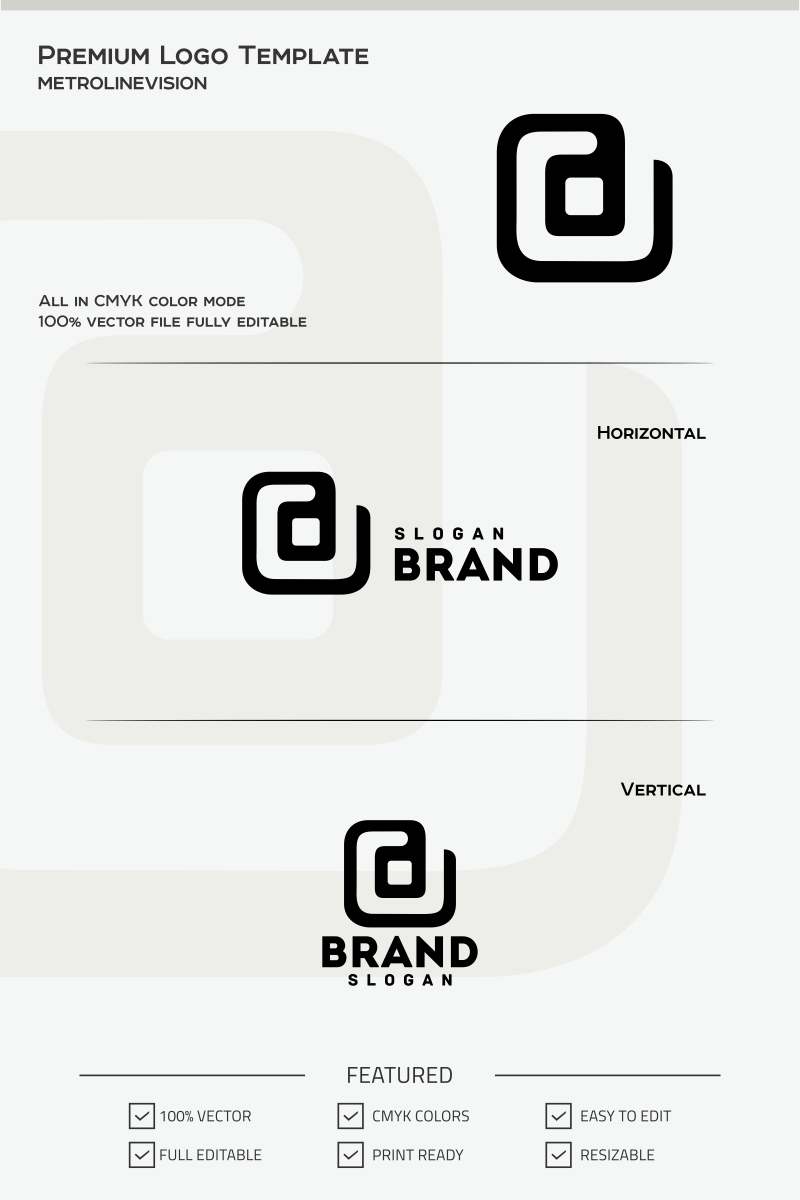 Letter d logo template 68061 letter d logo template altavistaventures Image collections
