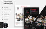 Photographer Flyer Corporate Identity Template