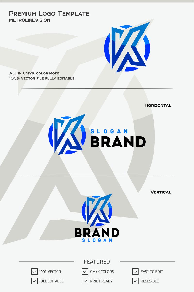 Letter k logo template 68343 spiritdancerdesigns Gallery