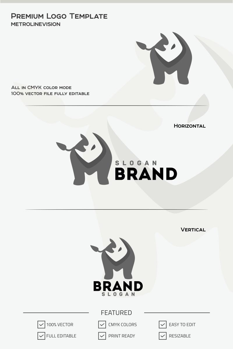 rhino logo template 69731