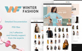 "Responzivní PrestaShop motiv ""Winter Fashion - Fashionable Winter Wear"""