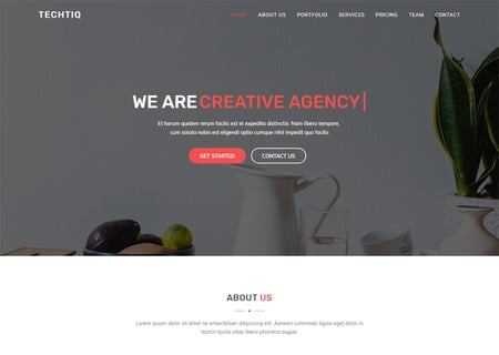 Techtiq - Responsive Multipurpose