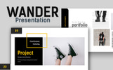 Wander Creative Presentation PowerPoint Template