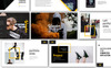 Wander Creative Presentation PowerPoint Template Big Screenshot