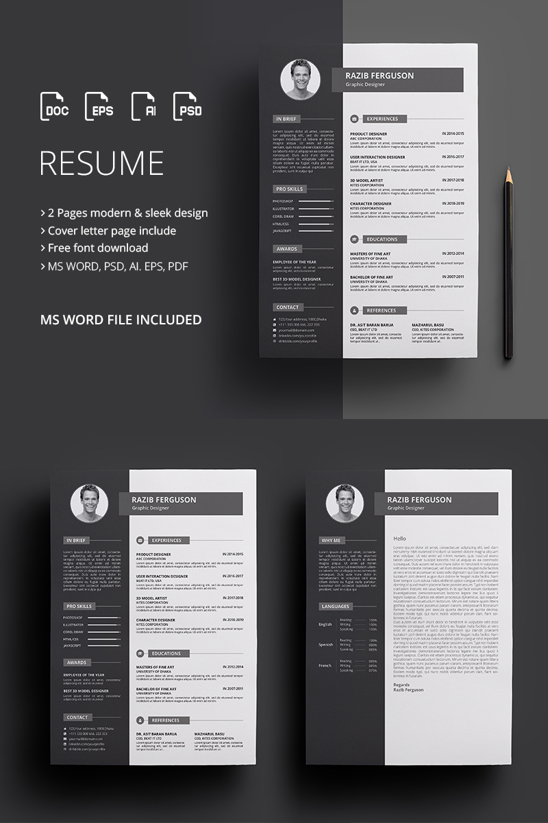 Ferguson - Resume Template #67918