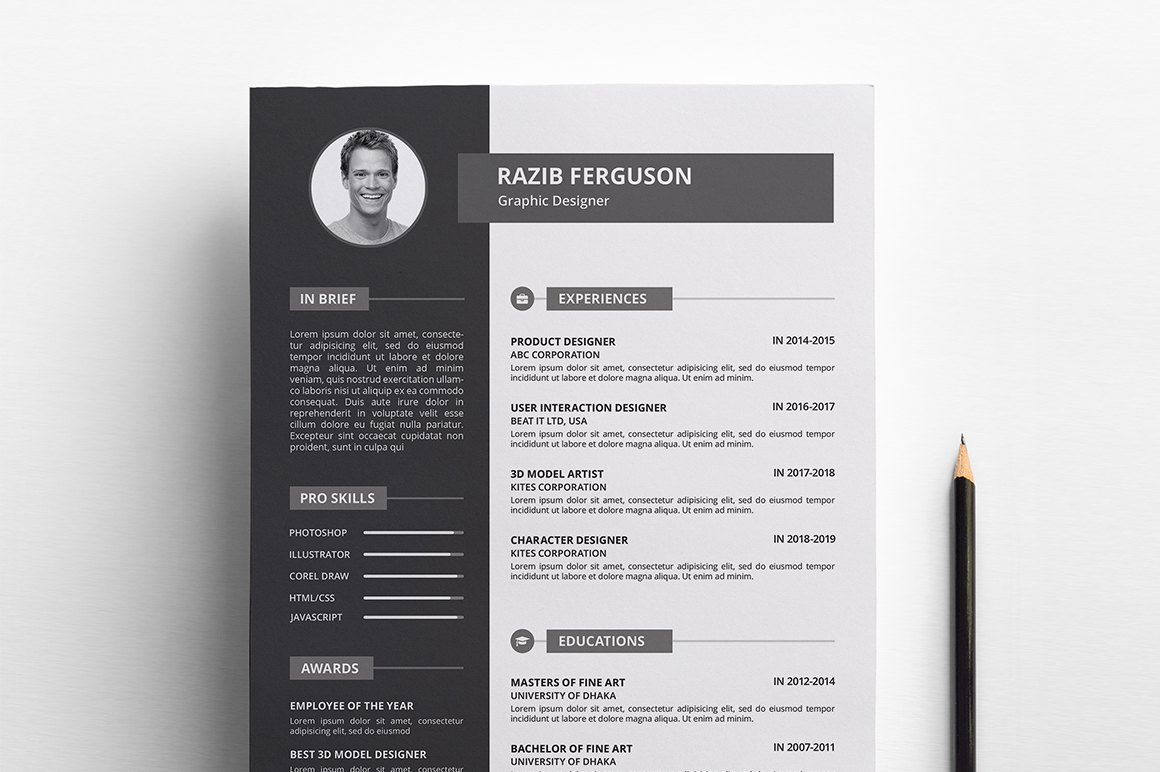 Ferguson - Resume Template #67918