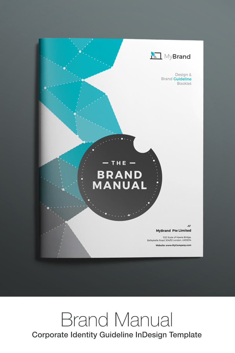 Brand Manual Corporate Identity Template #67908