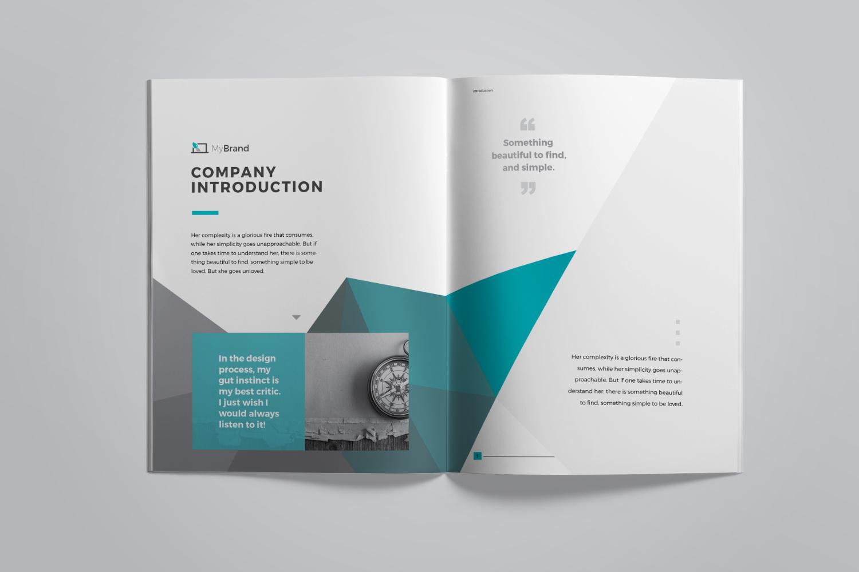 brand manual corporate identity template 67908