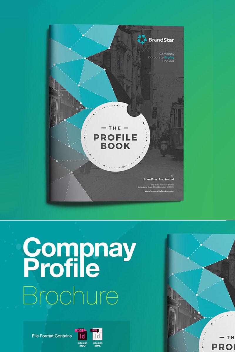 Plantilla de Identidad Corporativa #67909 para Sitio de Industria