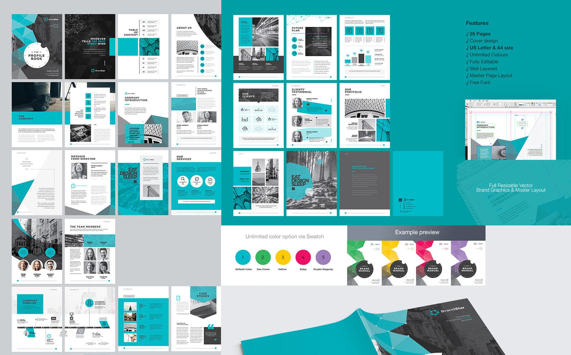 Plantilla de Identidad Corporativa #67909 para Sitio de Graphics