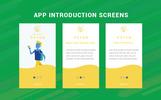 """UI prvky """"Rayan UI/UX Prototype Screens"""""""