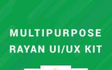 Rayan UI/UX Prototype Screens UI Elements