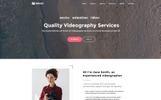 Waves - 9 in 1 Business One Page Website Template