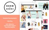 Normcore - Apparel Store Tema PrestaShop  №67560