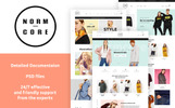 Responsywny szablon PrestaShop Normcore - Apparel Store #67560