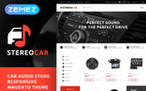 Responsive StereoCar - Car Audio Store Magento Teması