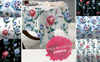 Beautiful Eustoma JPG Watercolor Set Bundle Big Screenshot