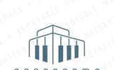 Piano Architecture - Logo Template