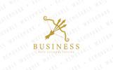 Triple Arrow Bow - Logo Template