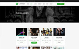 Fitness - Gym Fitness Website Template