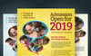Junior School  - Promotion Flyer PSD Template Big Screenshot