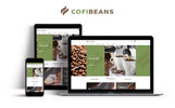 CofiBeans - AMP Coffee Shop Tema Magento №67581
