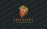 Cocoa Bean Character - Logo Template