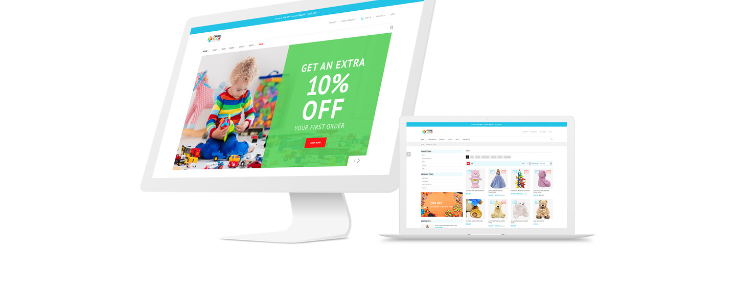 Chuck Loon - Responsive Toys & Children Clothes Online Store Shopify Theme