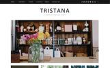 Tristana - Blog Responsive WordPress sablon