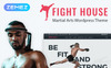 Fight House - Brutal Martial Arts Club WordPress Theme New Screenshots BIG