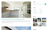 """HOMEOWN - Luxury Single Property Selling Company Multipage HTML"" modèle web adaptatif"