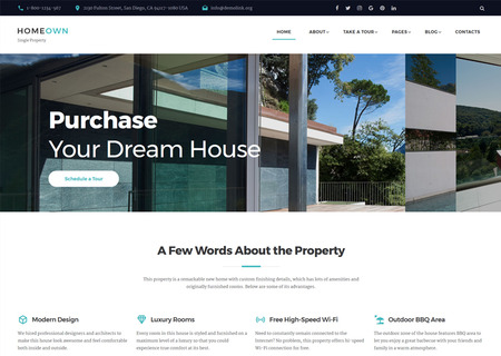 Luxury Home Multipage HTML